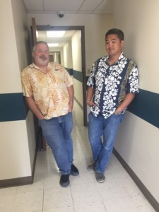 Huffman Engineering Hawaiian Shirts