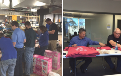Community Service at Huffman Engineering – A New Employee's Perspective