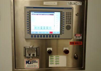 Pharma Granulator Upgraded Operator Control Panel