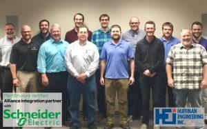 9 Huffman Engineering Employees Pass PlantStruxure Exams