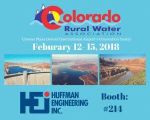 Huffman Engineering attends 2018 CRWA