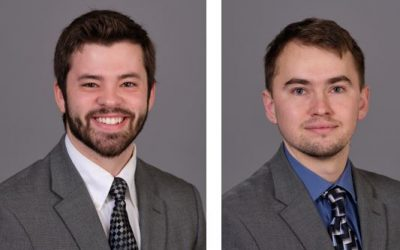 Huffman Engineering Hires Electrical Engineer Joe Dodendorf and Mechanical Engineer Grant Benson for Lincoln Office
