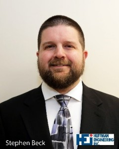 Huffman Engineering Employee Stephen Beck Attains Licensed Professional Engineer Status in State of Nebraska