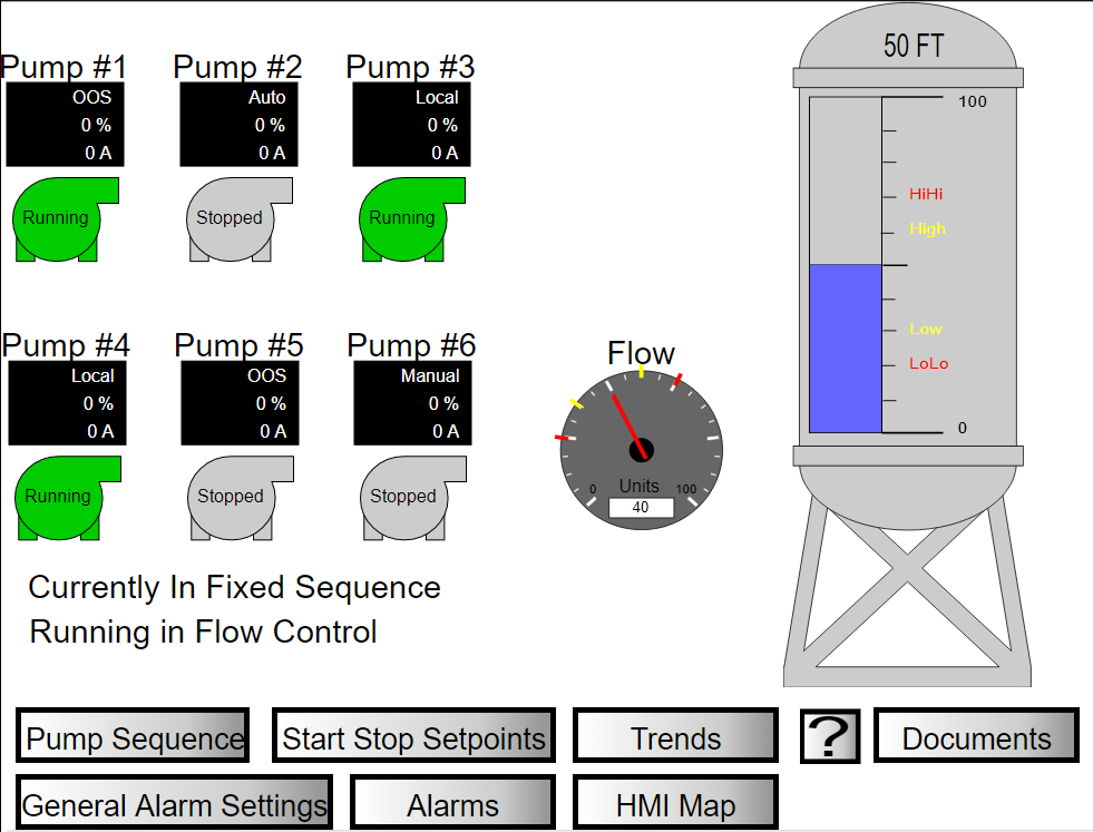 Huffman Engineering HMI Sample 1