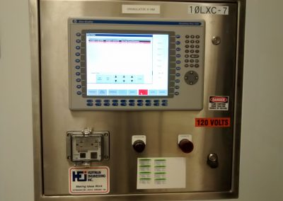 Pharma Granulator Upgraded Operator Control Panel